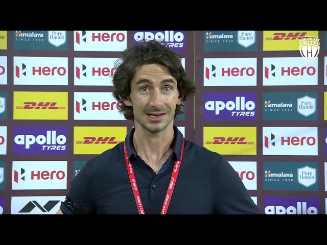 Match 7 - KBFC v/s NEUFC Post Match Interview Gerard Nus, ISL Season 7