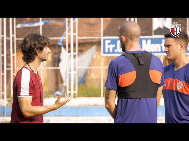 BTS: NEUFC Practice Session ISL Season 7